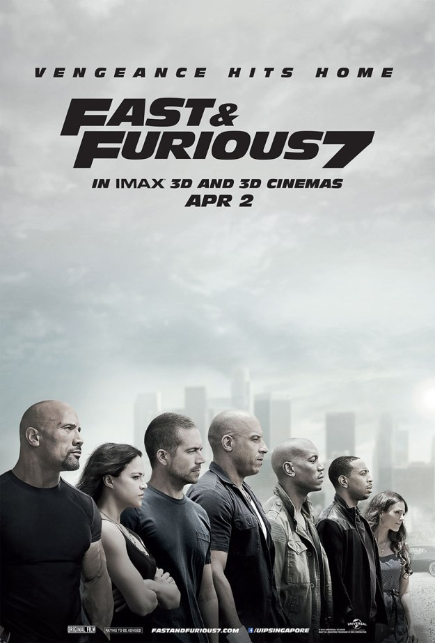 Fast & Furious 7(2015)